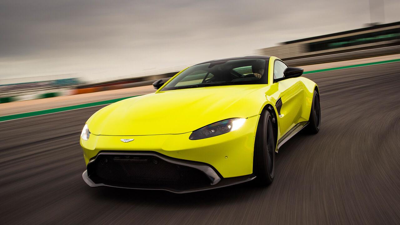 Aston Martin Vantage V8 2018 Daten Test Preis Marktstart Auto Motor Und Sport