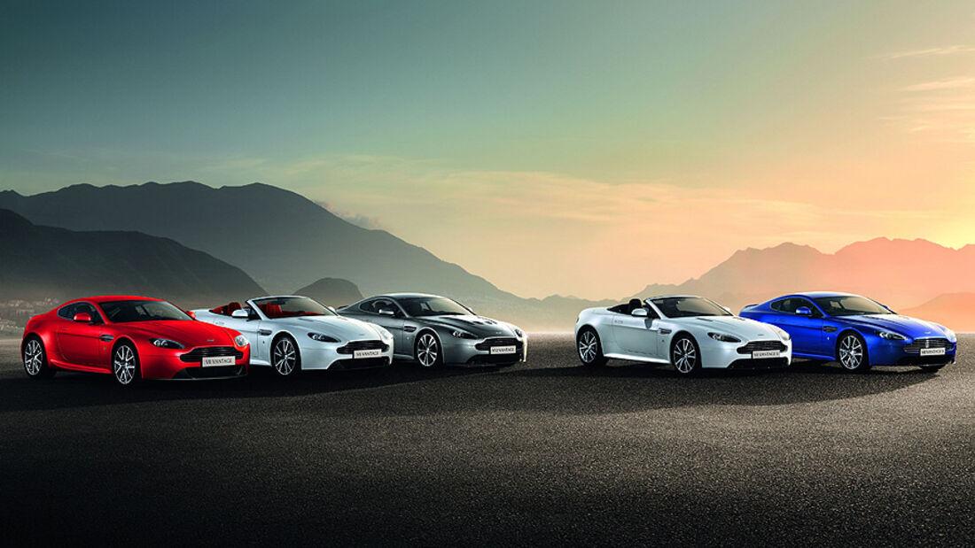 Aston Martin Vantage V8 2012