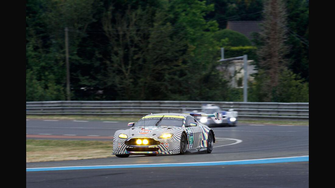 Aston Martin Vantage V8 - 24h-Rennen Le Mans 2015 - Donnerstag - 12.6.2015