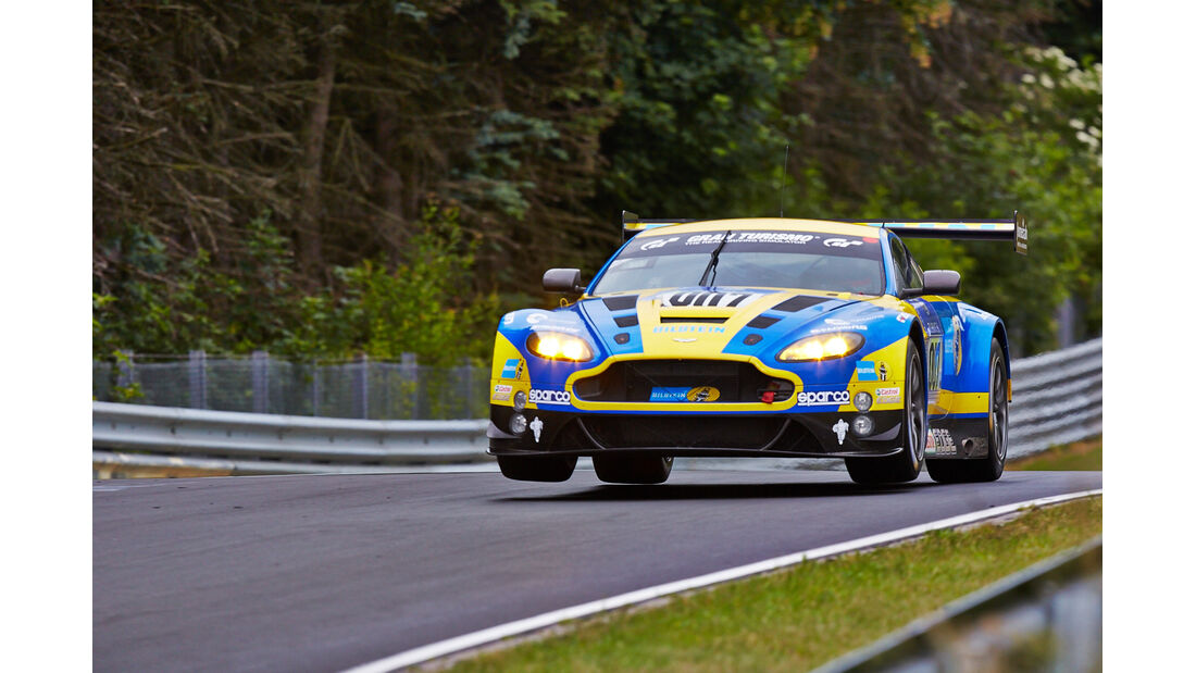 Aston Martin Vantage V8 - Aston Martin Racing  - 24h-Rennen Nürburgring 2014 - Top-30-Qualifying