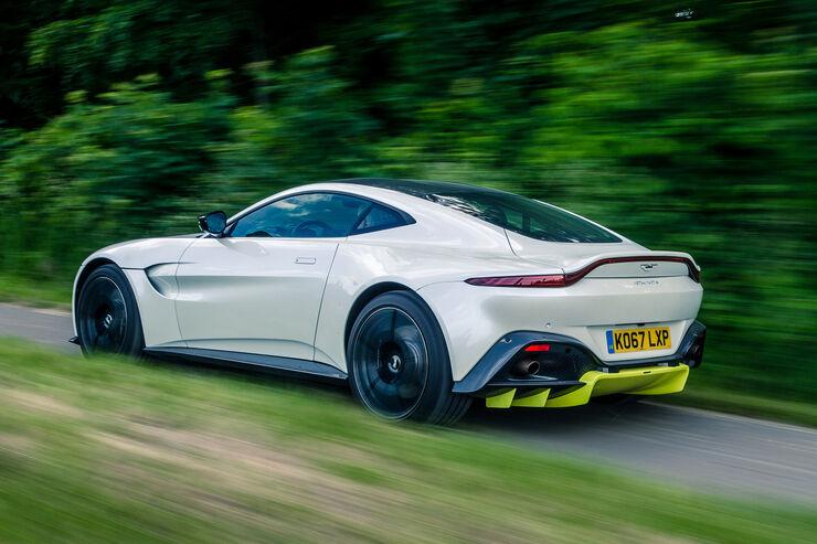 Test Aston Martin Vantage Technische Daten Auto Motor Und Sport
