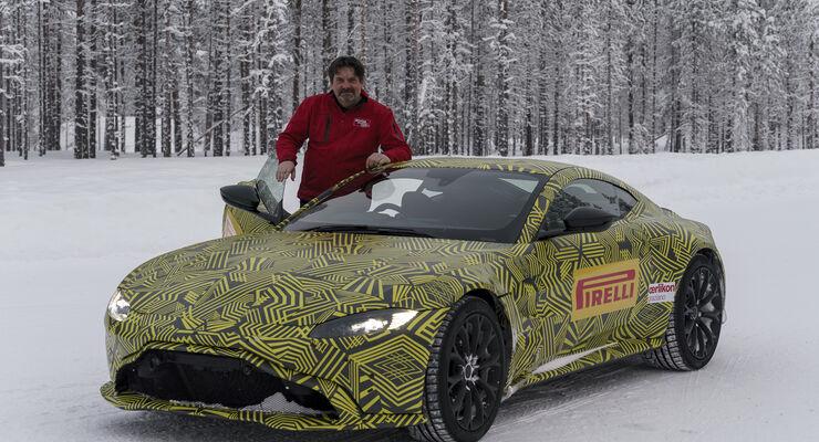Aston Martin Vantage V8, Prototyp, Fahrbericht