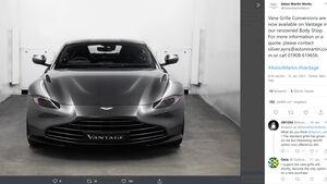 Aston Martin Vantage neuer Grill