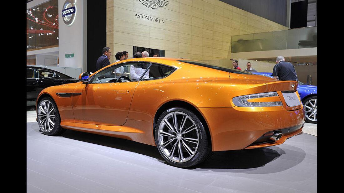 Aston Martin Virage, Messe, Genf, 2011
