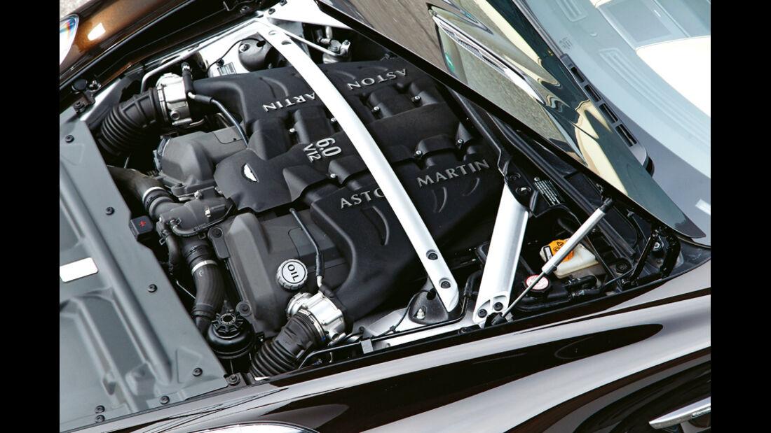 Aston Martin Virage, Motor