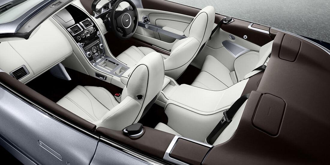 Aston Martin Virage Volante, Innenraum, Cockpit