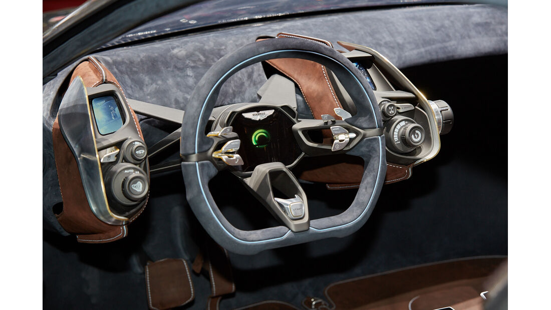 Aston Martin Vulcan - Sportwagen - Genfer Autosalon 2015