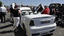 Astra G Cabrio mit Flügeltüren