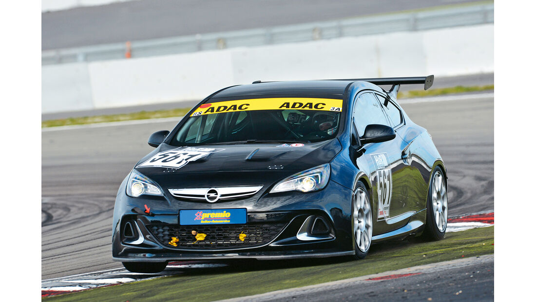 Astra OPC, Frontansicht