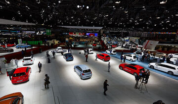 Atmosphäre, Genfer Autosalon, Messe, 2014