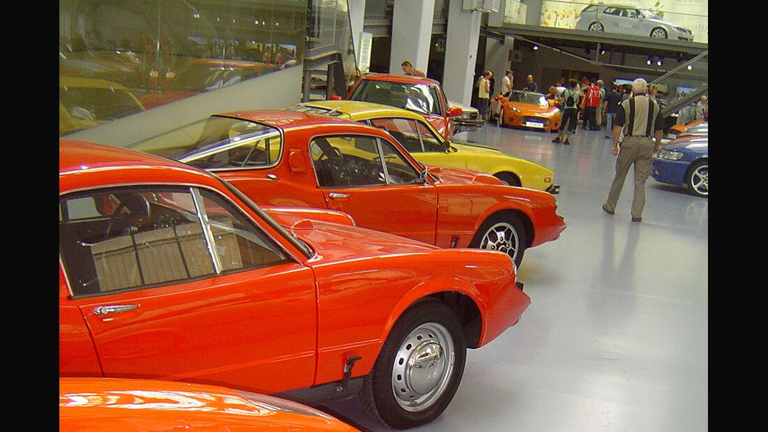 Atmosphäre Saab Museum