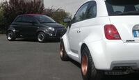 Atomik Cars Fiat 500 Elektroauto