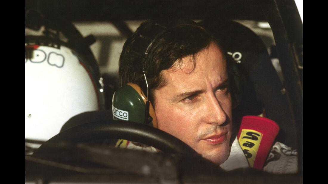 Attilio Bettega in seinem Lancia