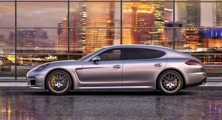 Auch Porsche bietet eine Langversion des Panamera an.