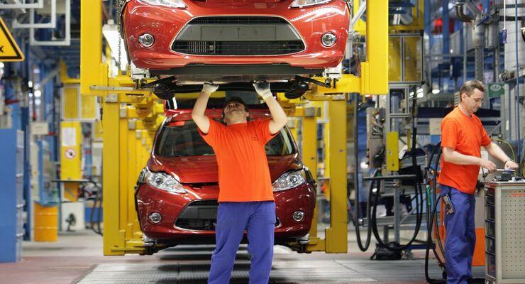 Auch die nächste Generation des Ford Fiesta wird in Köln gefertigt.