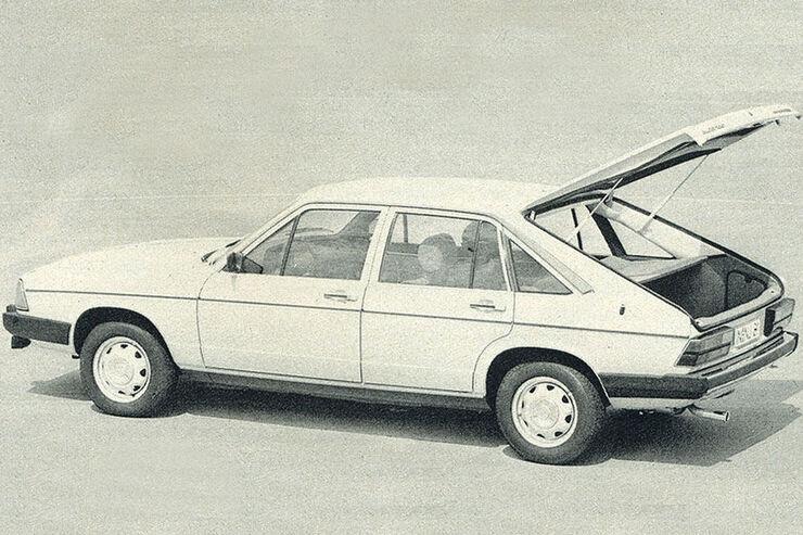 Audi, 100 Avant, IAA 1977