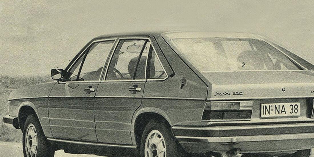 Audi, 100 Avant, IAA 1979