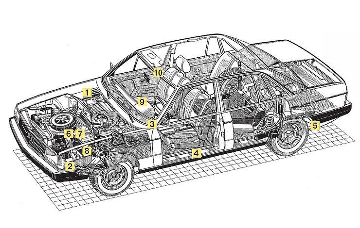 Audi 100 CD 5E (Typ 43)