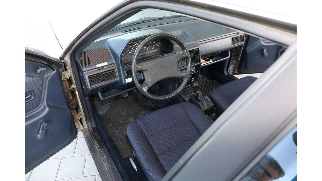 Audi 100 CS, Typ 44, Cockpit