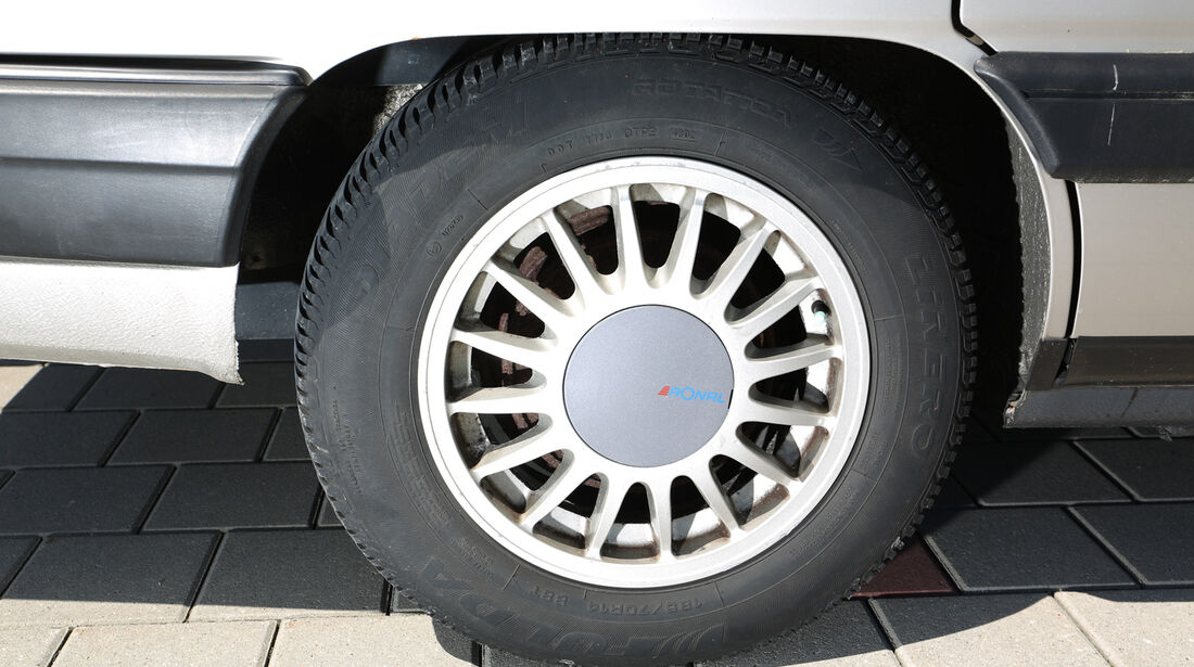 Audi 100 CS, Typ 44, Rad, Felge
