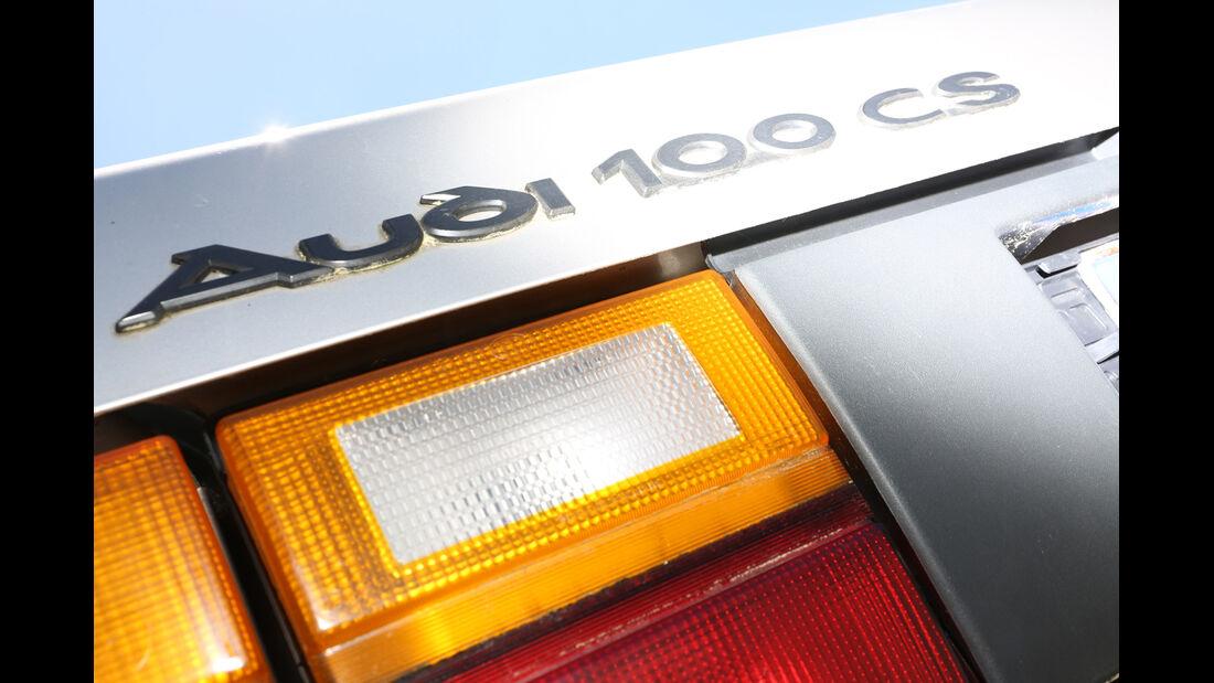 Audi 100 CS, Typ 44, Typenbezeichnung, Heckleuchte