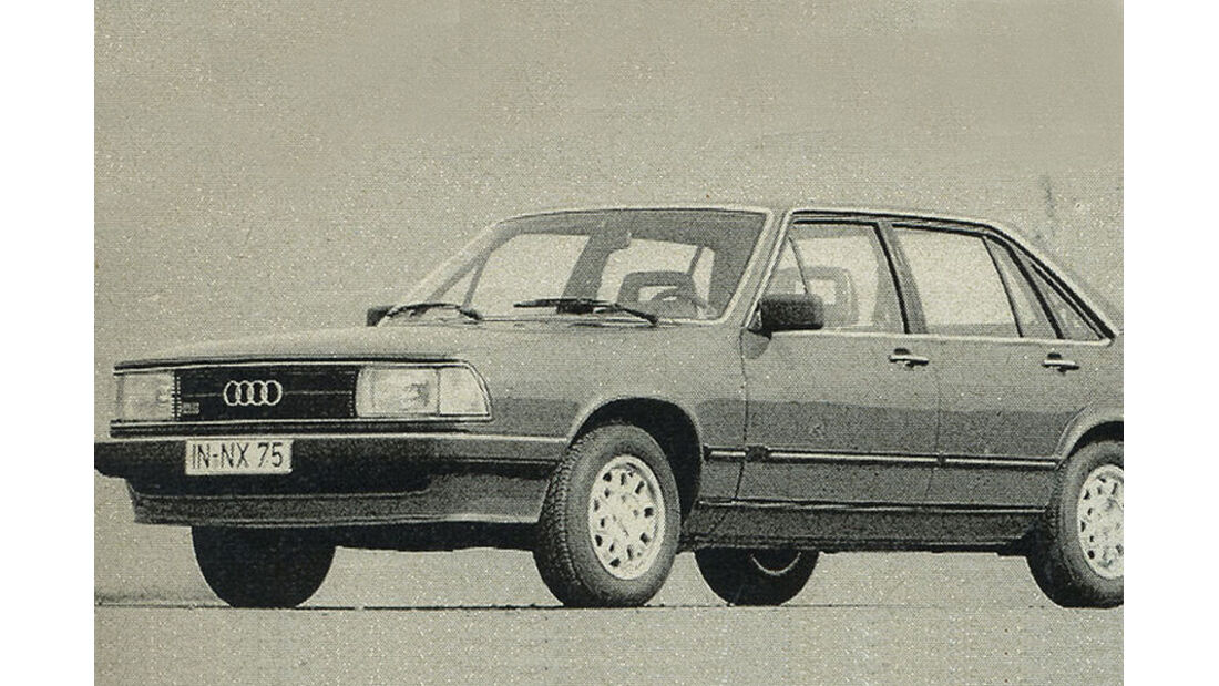 Audi, 100 CS, iAA 1981