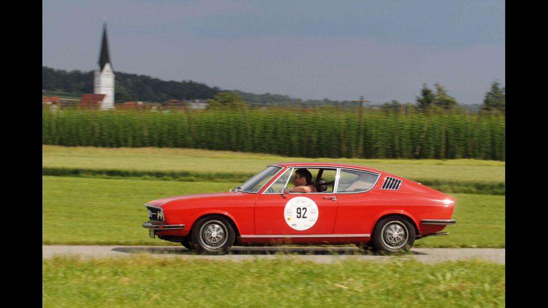 Audi 100 Coupe S, Seitenansicht