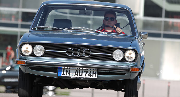 Audi 100, F104, Frontansicht