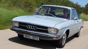 Audi 100, Frontansicht