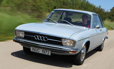 Audi 100, Frontansicht