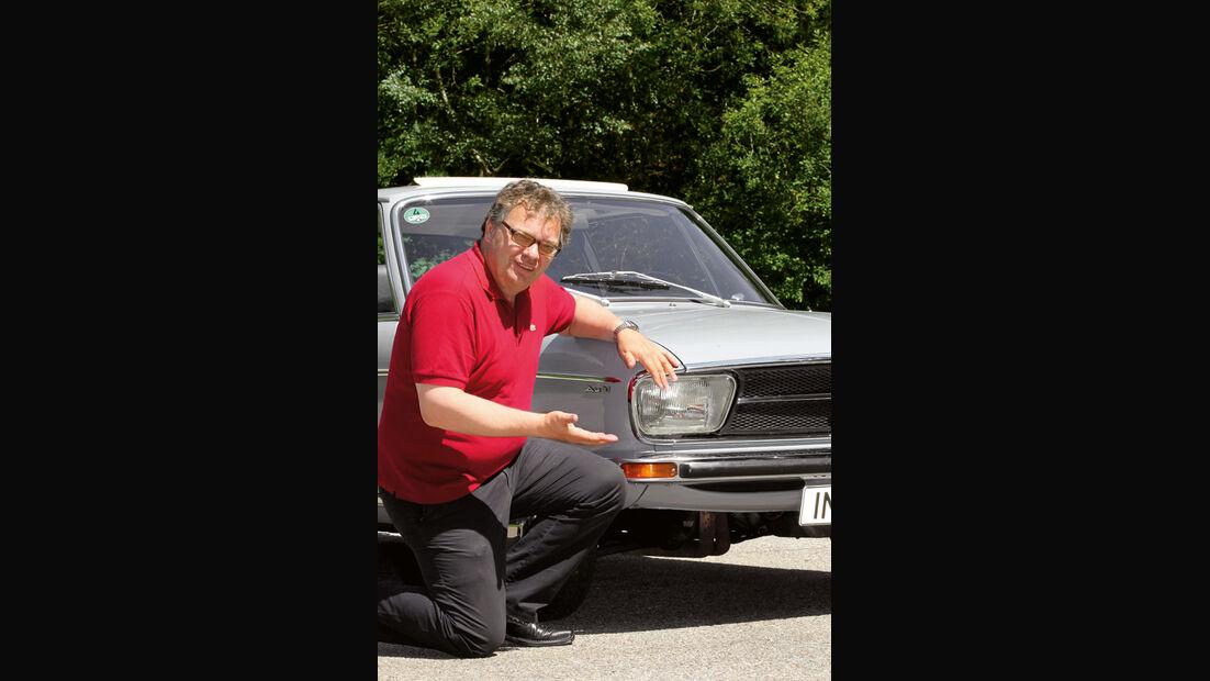 Audi 100 LS, Alf Cremers