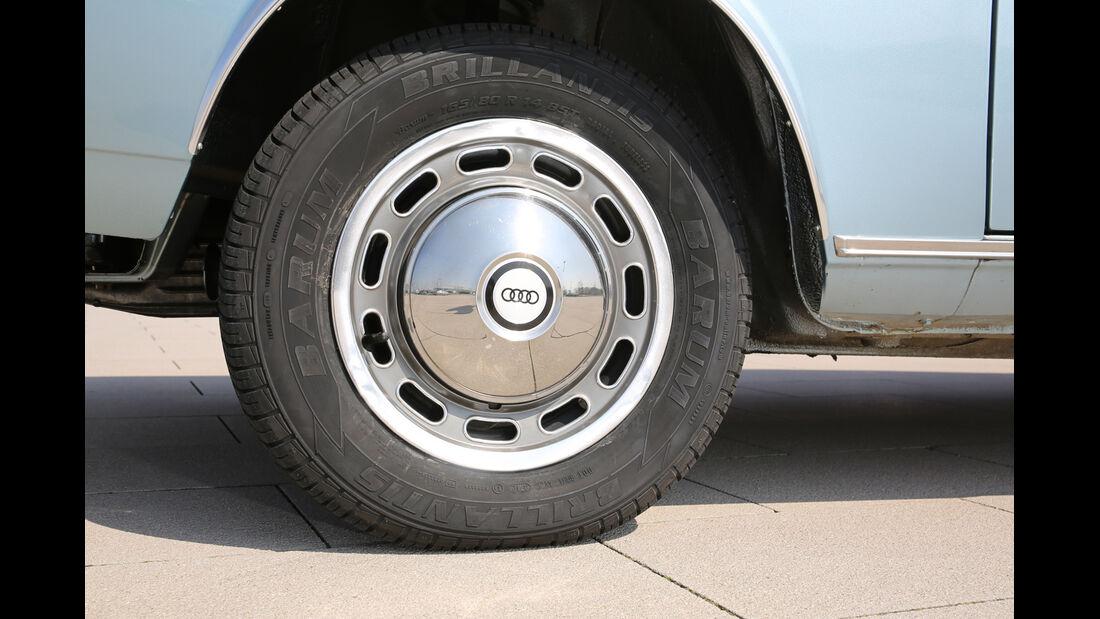 Audi 100 LS, Rad, Felge