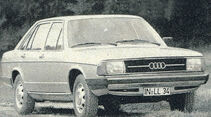 Audi, 100 Limousine, IAA 1977