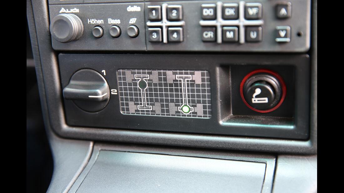 Audi 200, Bedienelemente