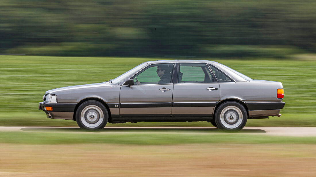 Audi 200 Quattro, Exterieur