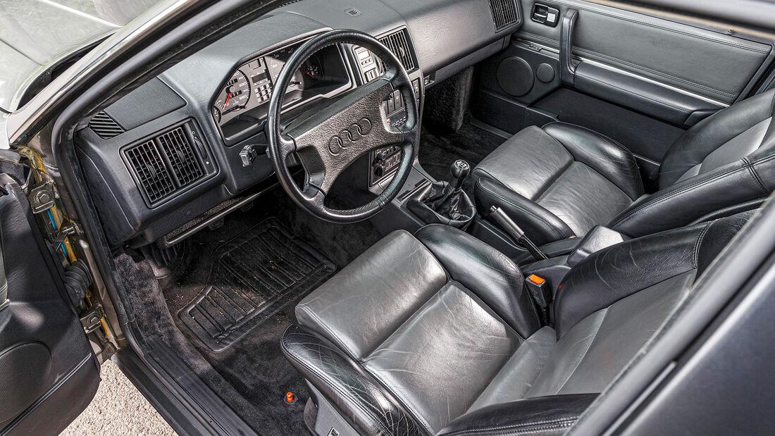 Audi 200 Quattro, Interieur