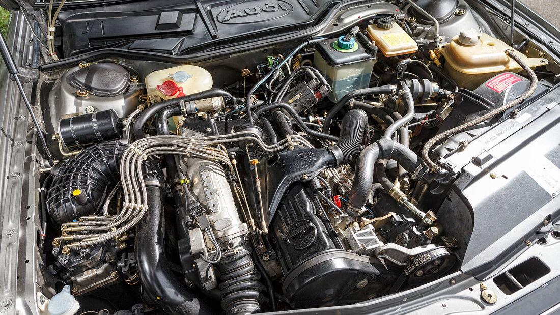 Audi 200 Quattro, Motor