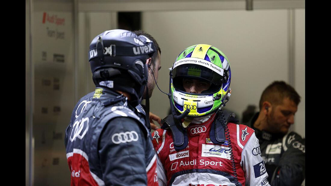 Audi, 24h-Rennen, Le Mans 2014, Qualifikation 3, Di Grassi