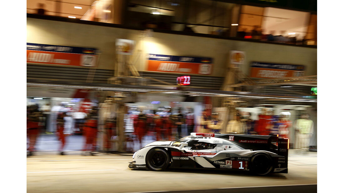 Audi, 24h-Rennen, Le Mans 2014, Qualifikation 3, Di Grassi, Gené, Kristensen