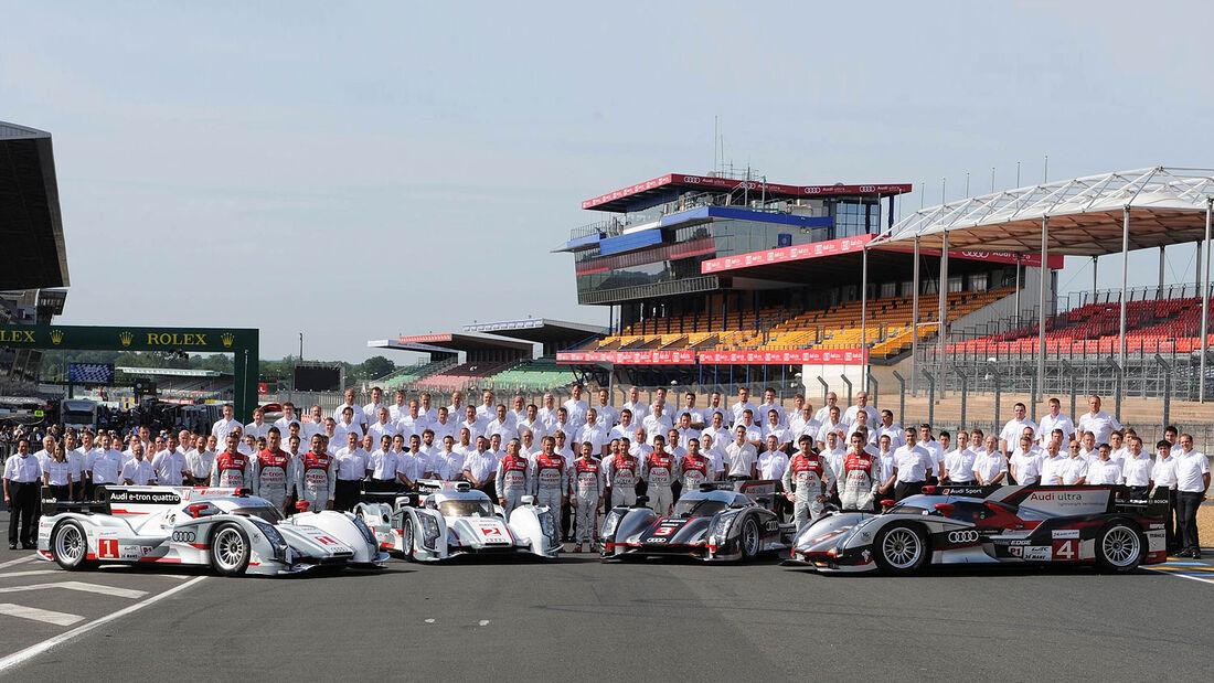 Audi 24h-Rennen LeMans 2012