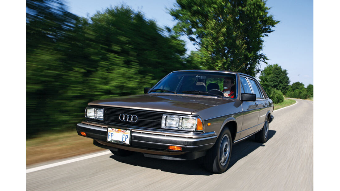 Audi 5000 S (100 CD 5E, Typ 43), 1982, Front
