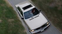 Audi 5000S, Ansicht von oben