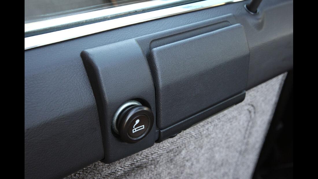 Audi 5000S, Detail, Feuerzeug