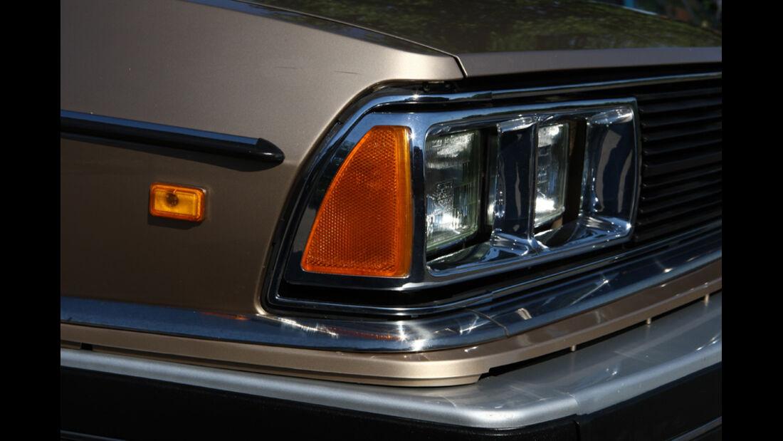 Audi 5000S, Detail, Frontlichter