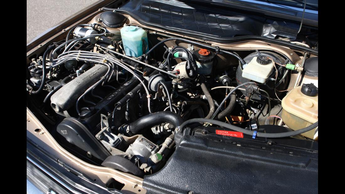 Audi 5000S, Detail, Motorraum