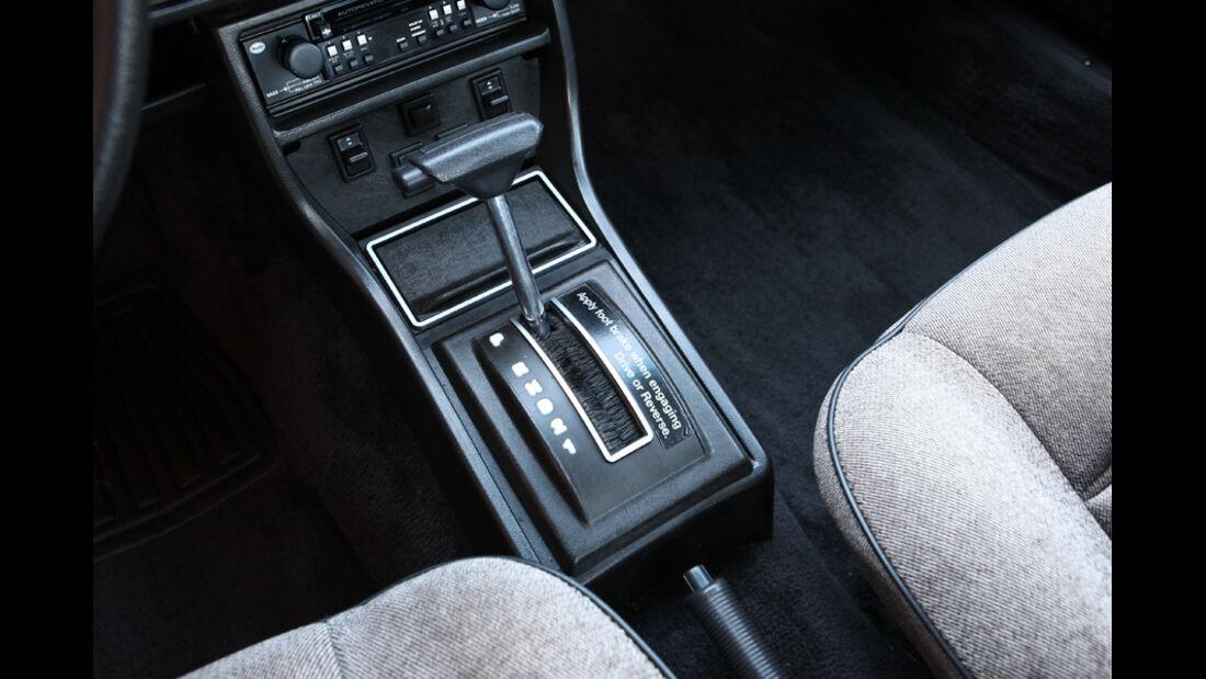 Audi 5000S, Detail, Schalthebel