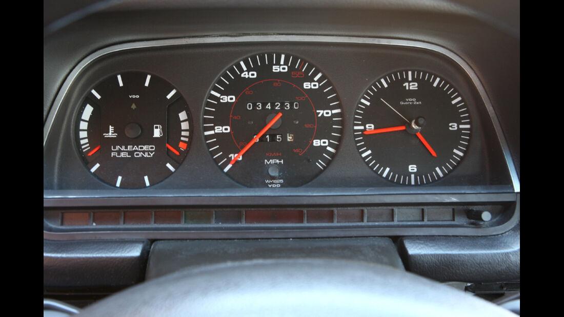 Audi 5000S, Detail, Tachoansicht