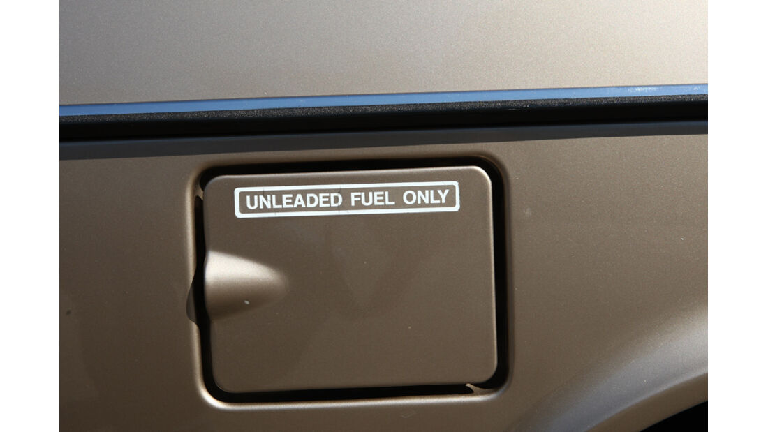 Audi 5000S, Detail, Tanköffnung