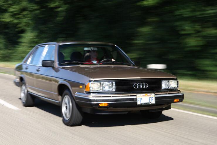 Audi 5000S, Front