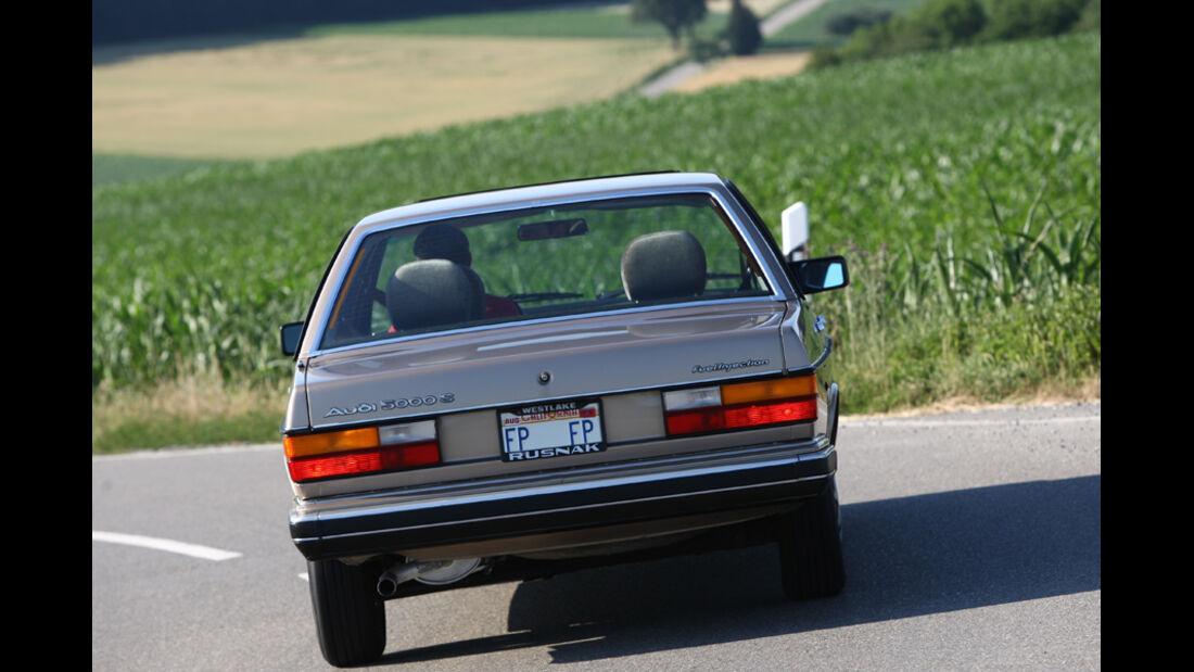 Audi 5000S, Heck
